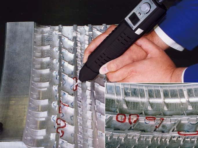 橡胶成型模具的堆焊修复