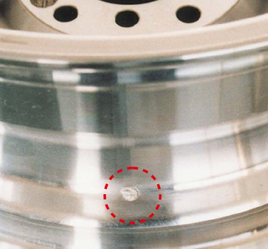压铸・铝产品的堆焊修补|堆焊后