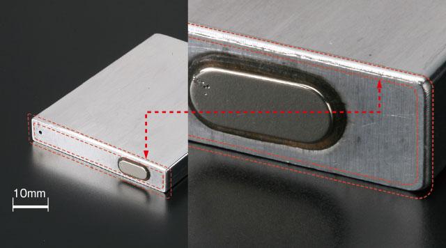 バッテリーケーストップ部溶接