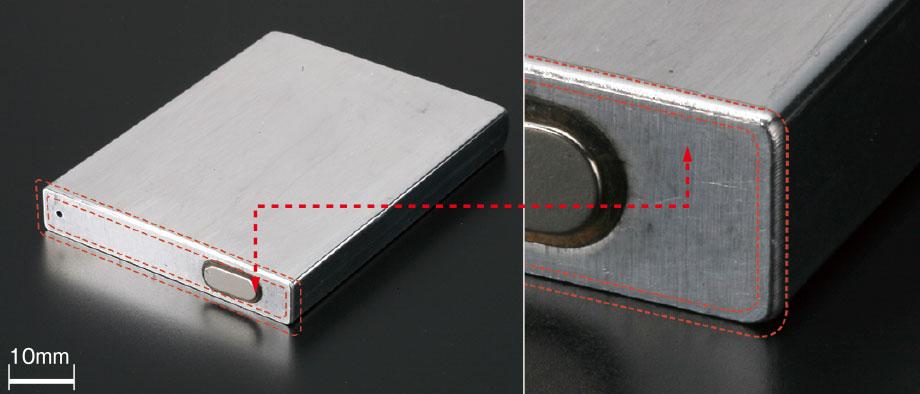 バッテリーケース・トップ部の溶接
