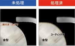 金型の焼付き・カジリの予防