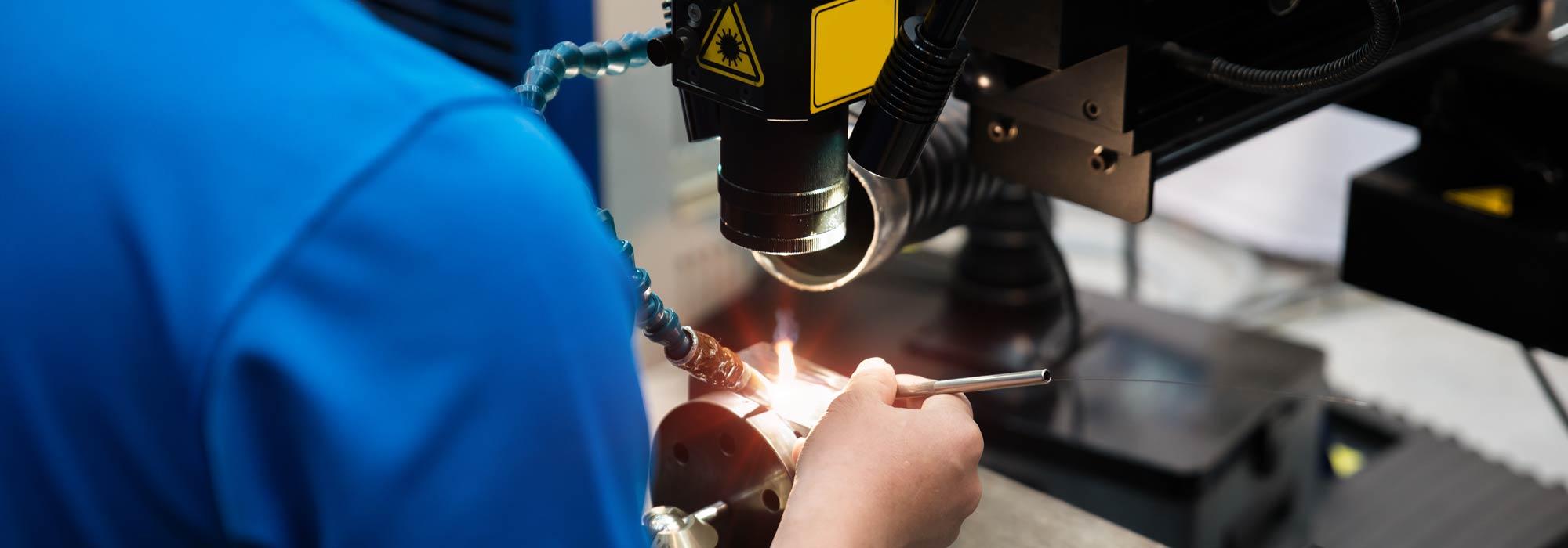 レーザー溶接受託加工