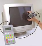 ブラウン管のR寸法測定